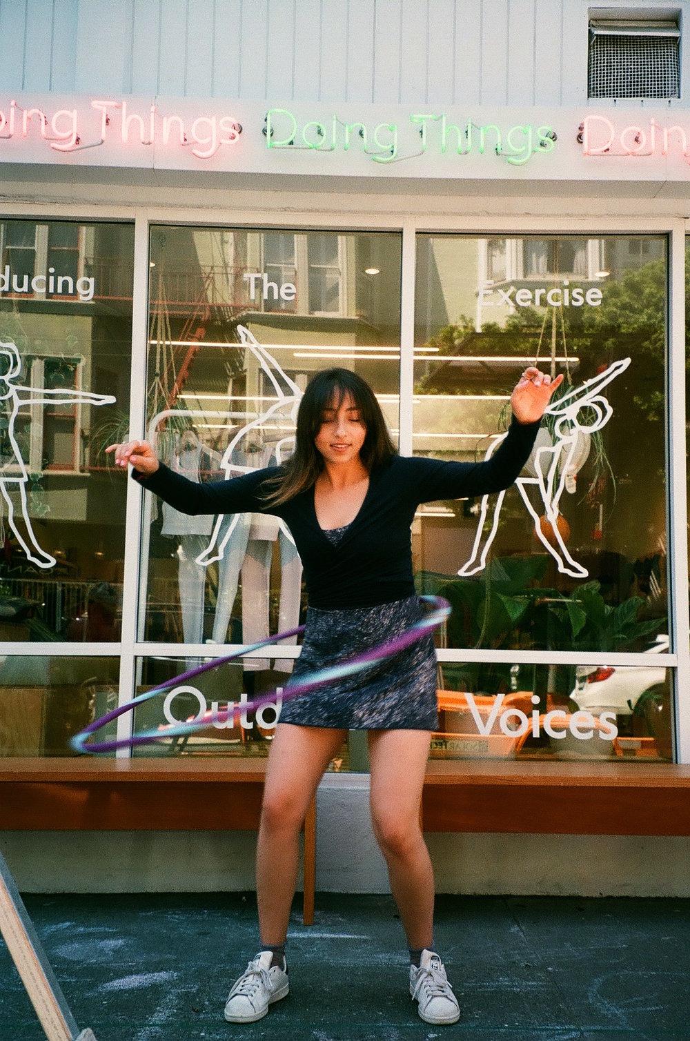 Shopgirl: Sarah of Outdoor Voices // DNAMAG