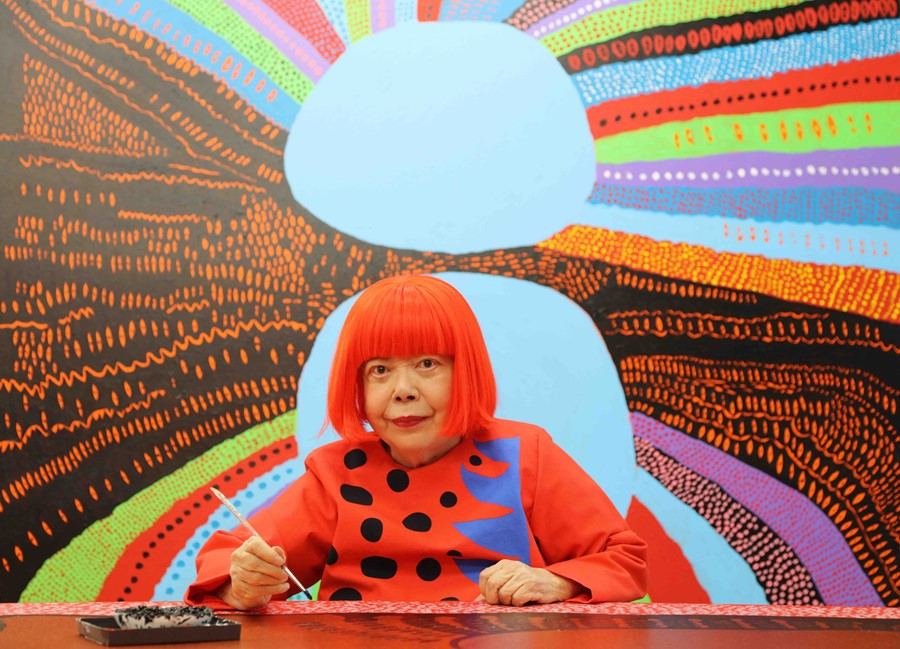 Yayoi Kusama Returns to London