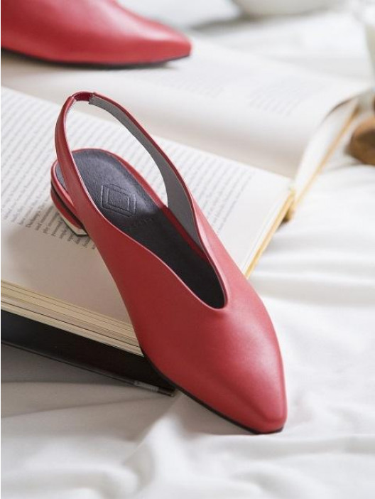 Byeuuns / Wave Slingback Red -