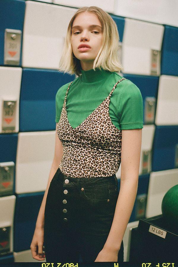 Urban Outfitters: Heidi animal print tank top