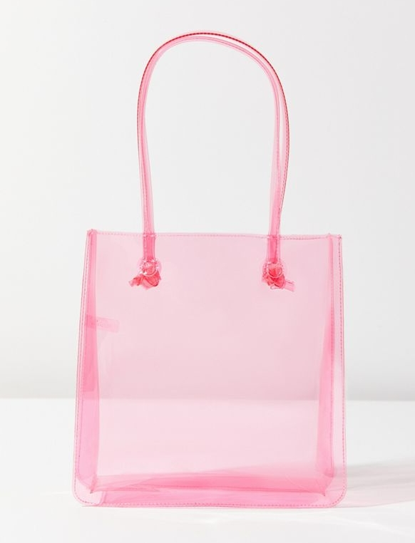 URBAN OUTFITTERS / CLEAR MINI TOTE $29 -