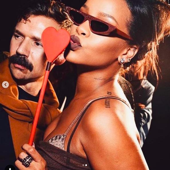 Adam Selman x Rihanna