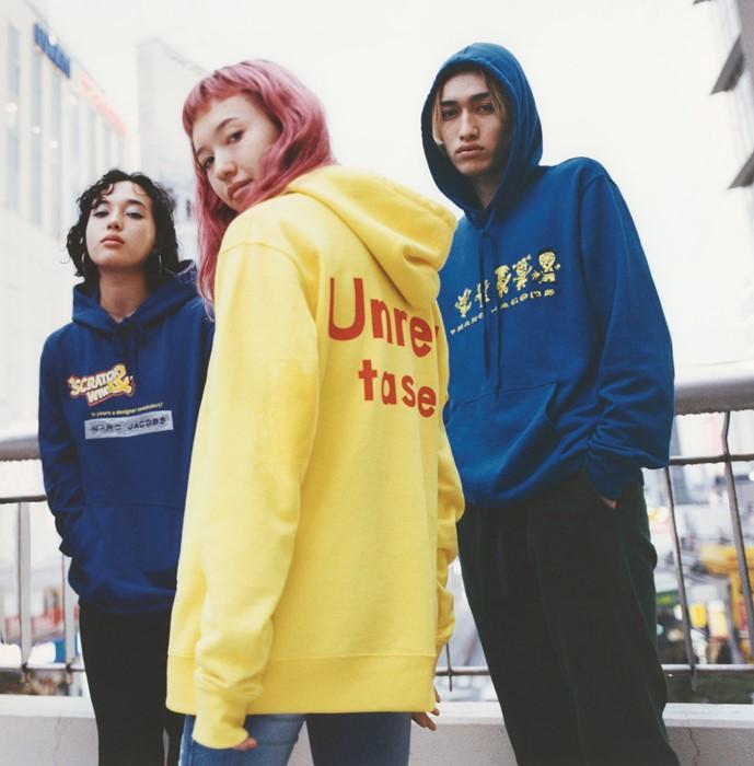 Ava Nirui x Marc Jacobs hoodies