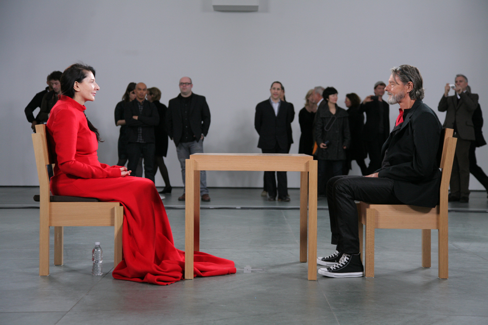 Marina Abramović and Ulay reunite at The Artist is Present