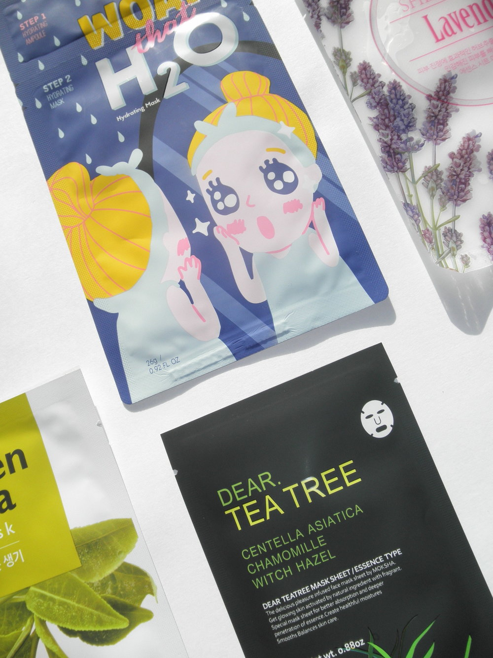 Read our review on these Korean Sheet Masks by Facetory // DNAMAG