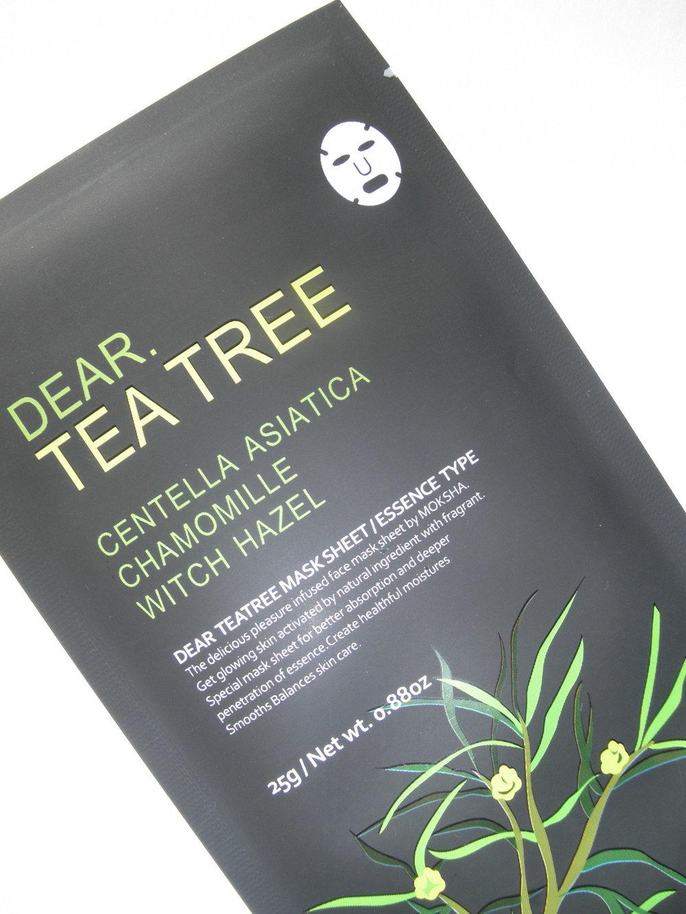 Moksha - Dear Tea Tree Mask -