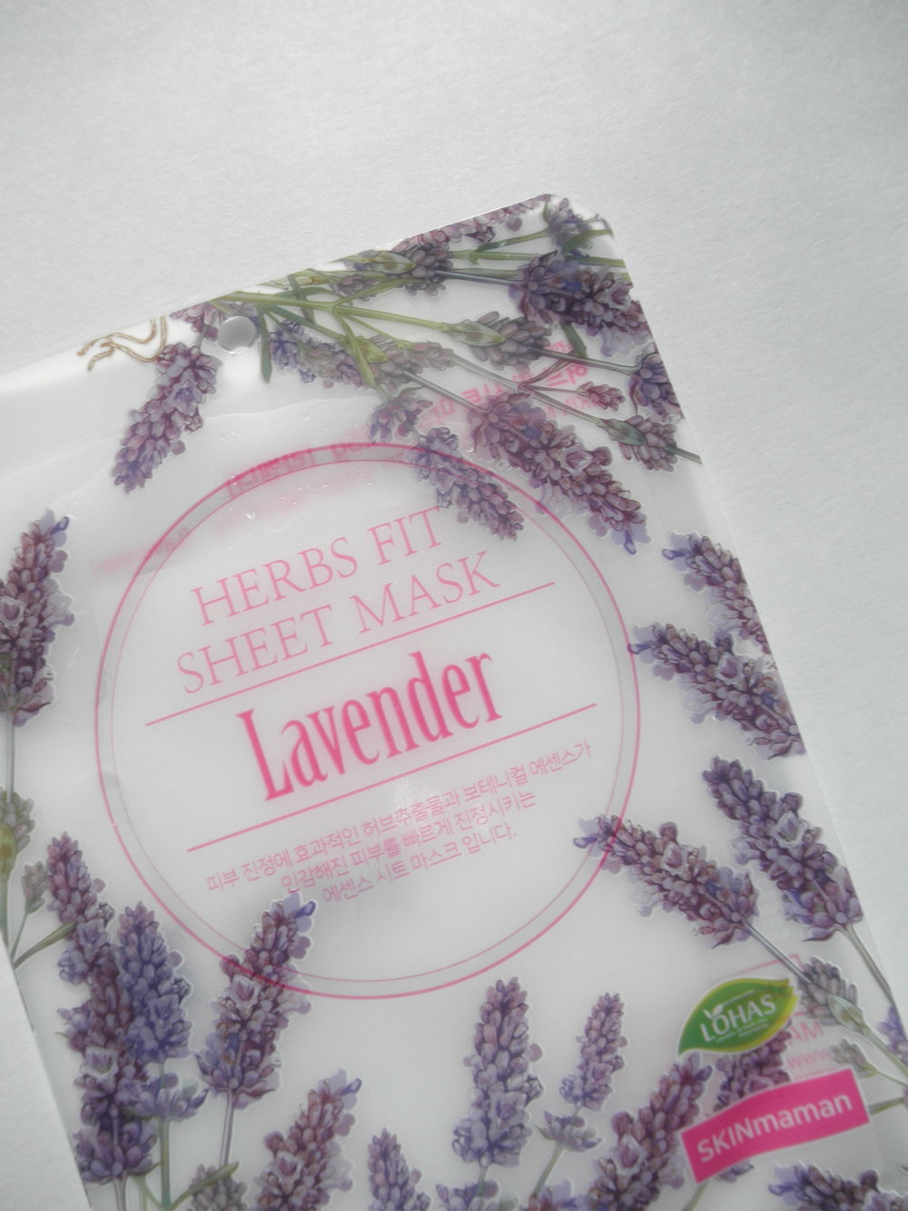 Nohj - Herbs Fit Sheet Mask Lavender -