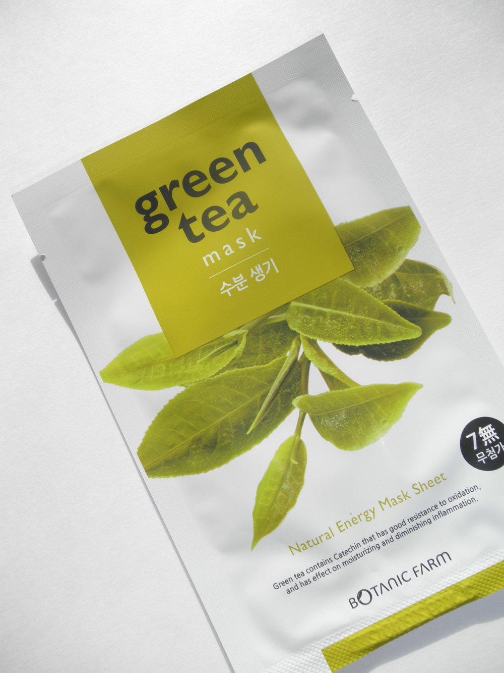 Botanic Farm - Green Tea Mask -