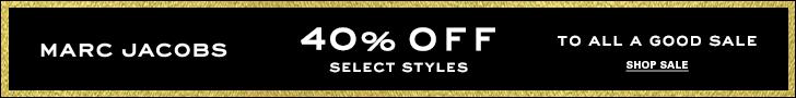 Shop Marc Jacobs sale (ends 12/31/18)
