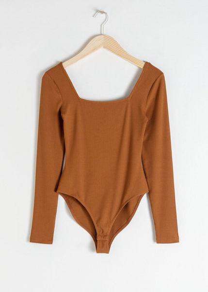 & OTHER STORIES / SQUARE NECK BODYSUIT $39 -