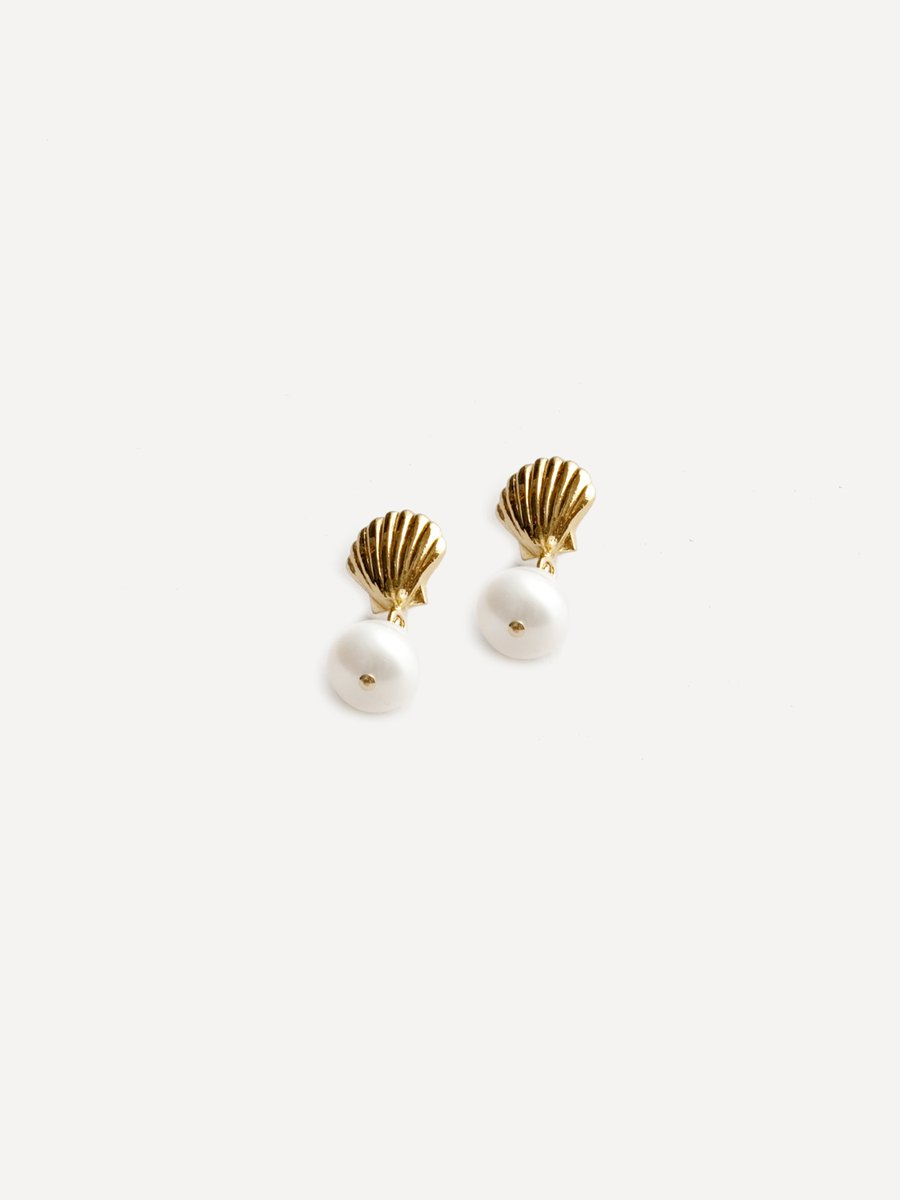 Marcel Pearl Studs by Wolf Circus // DNAMAG