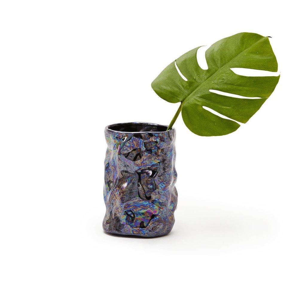 Wyatt Little wrinkly vase