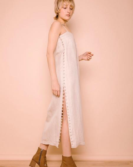 Ajaie Alaie full moon dress via The Drive New York