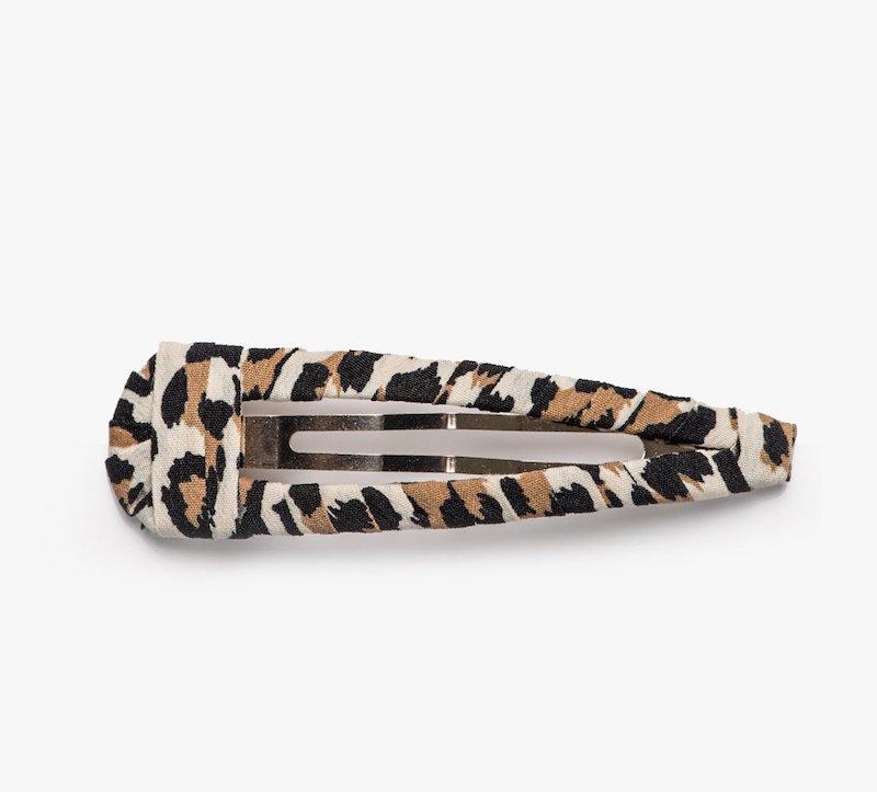 Pixie Market white leopard barrette $8