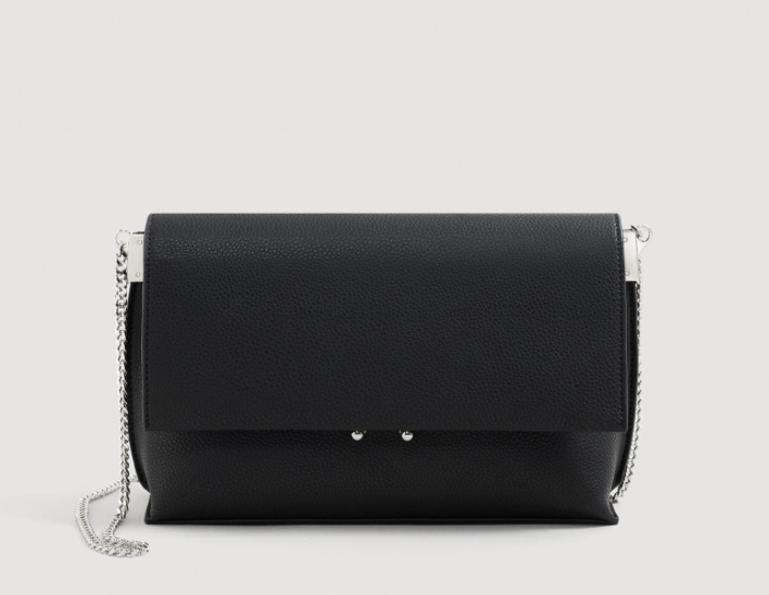MANGO / PEBBLED CHAIN BAG $19.99 *SALE -