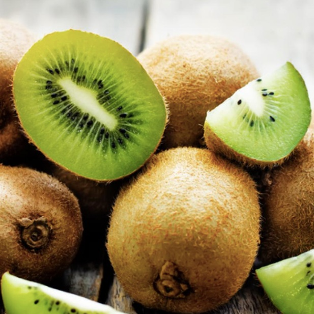KIWI - Packed with Vitamin C, which stimulates collagen synthesis