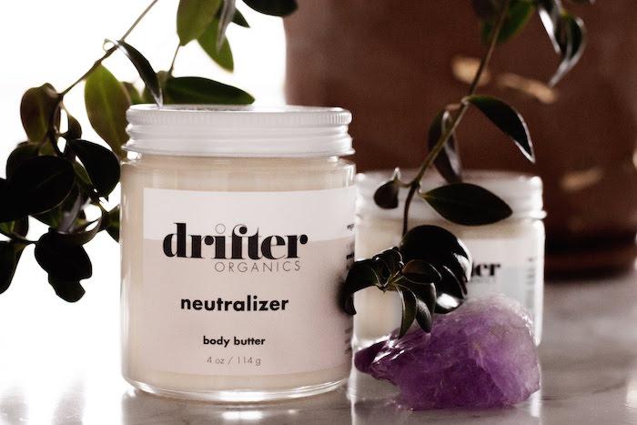 Drifter Organics neutralizer body butter