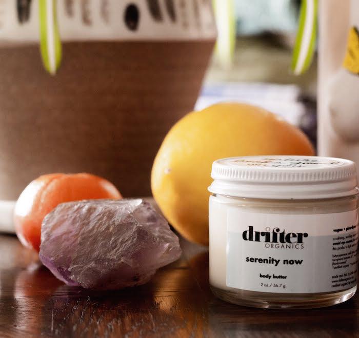 Drifter Organics serenity now body butter