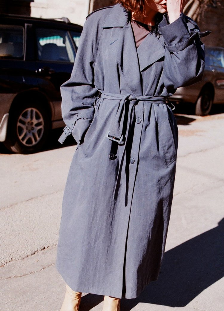 Vintage trench by Lucia Zolea