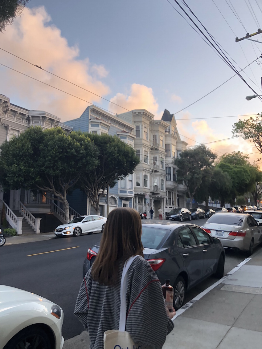 CONVENIENCE - Getting in shape is very simple in San Francisco, especially because of the hills. Living in such a tightly packed area means your desired destination is most likely walking distance. You are never bored.