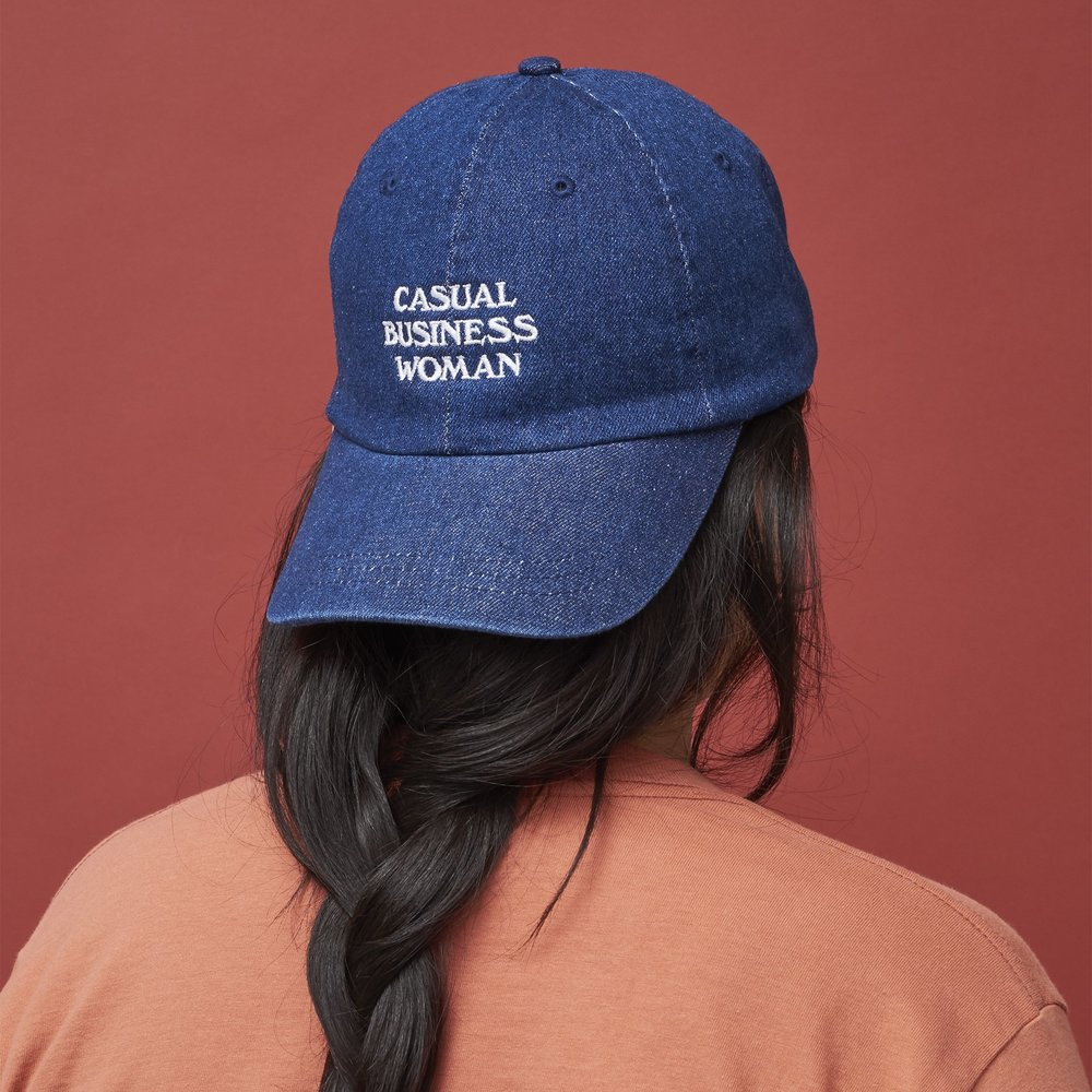 The Wing - Casual Business Woman cap in '5 Good Things Under $50' // DNAMAG