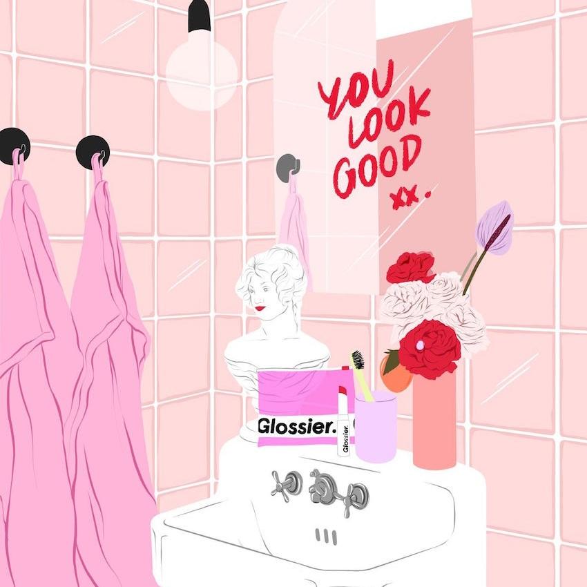 Breanna S Grwm Diary Dnamag Glossiest lip gloss by glossier. dnamag