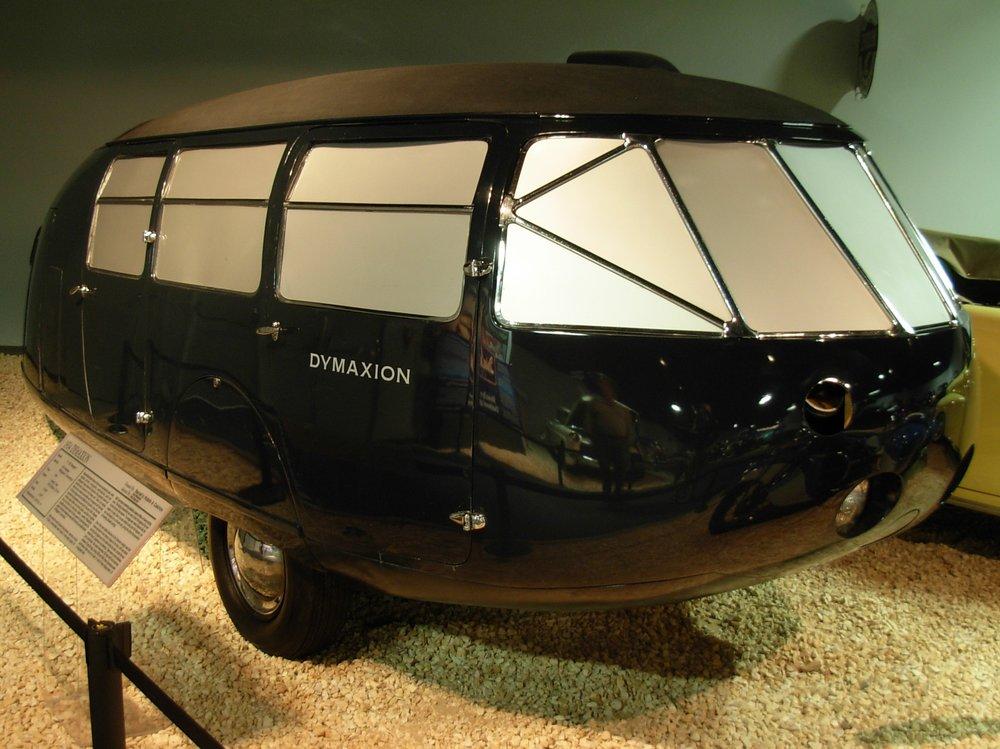 Dymaxion Car 2 pre restoration.