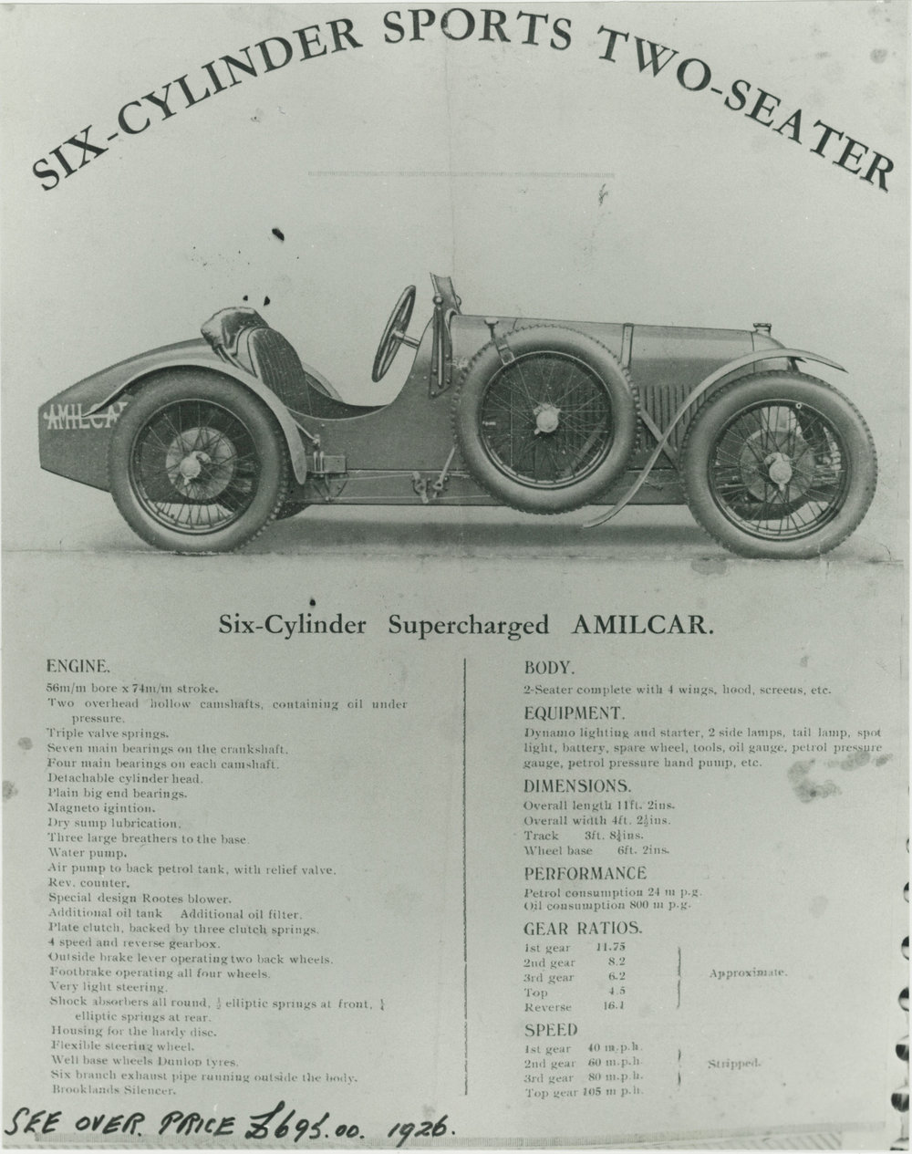 The original UK sales brochure.