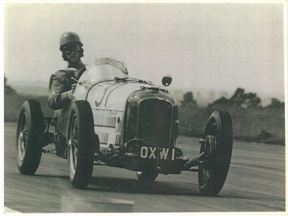 Tozer racing at Silverstone 1954.