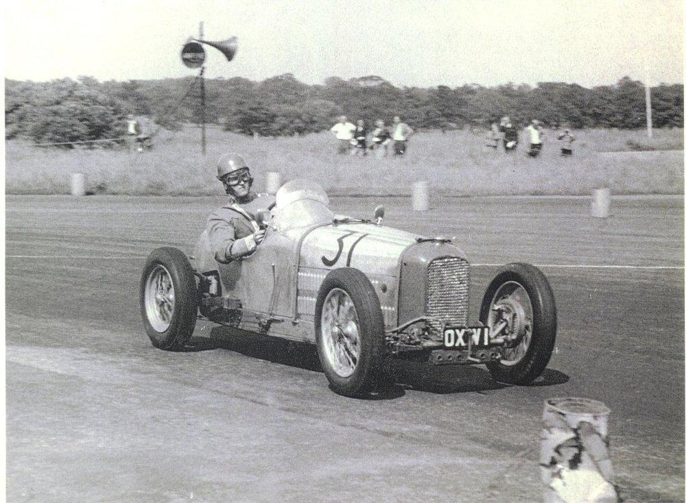 Tozer at Silverstone 1954.
