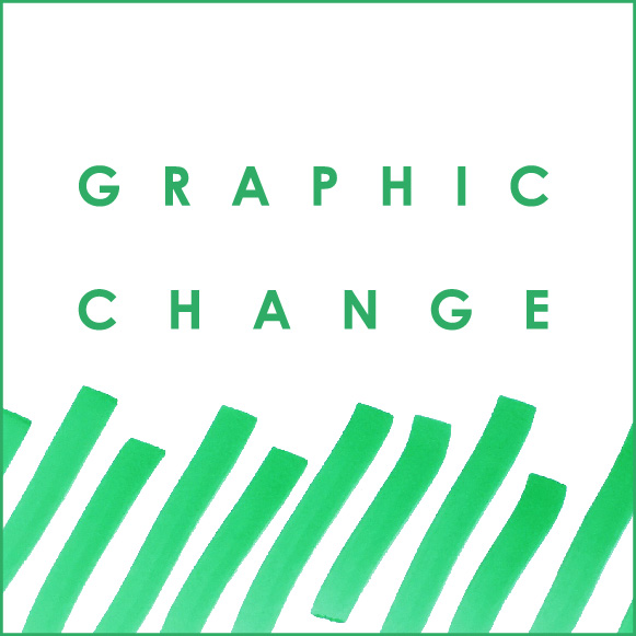 graphic change logo