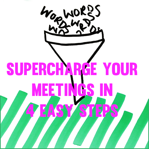 4 steps to super charge your meetings