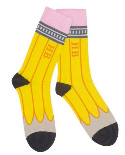 HB pencil socks