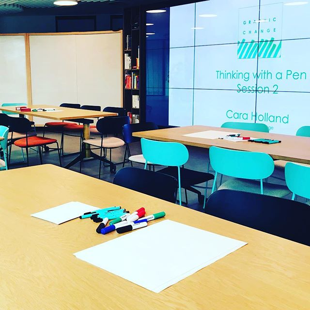 Busy day down in London town delivering introductory sessions.  I love sharing the visual thinking word with beginners.  Each time I say out loud the benefits of working visually, benefits to you and to the people you communicate with it makes me smile.  Working visually is awesome. Fact. 🌟✏️✏️⚡️🙌⚡️✏️✏️🌟 #workingvisually #graphicrecording #graphicfacilitation  #graphicchange #creativelife #OD #sharetheskills