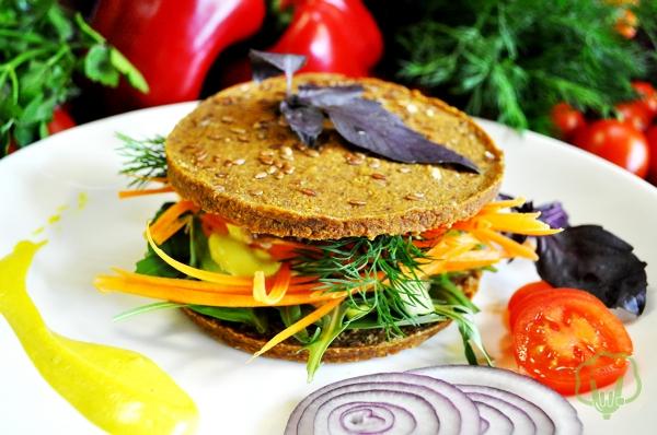 Indi burger by Rock 'n Raw