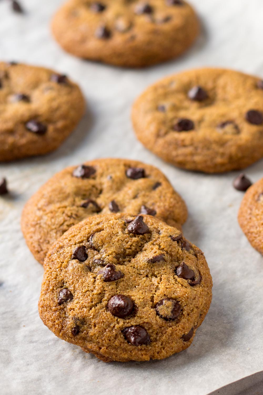 スペルトチョコチップクッキー