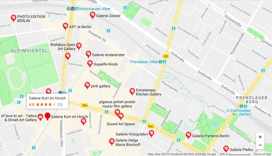 ベルリン Prenzlauer Berg地区