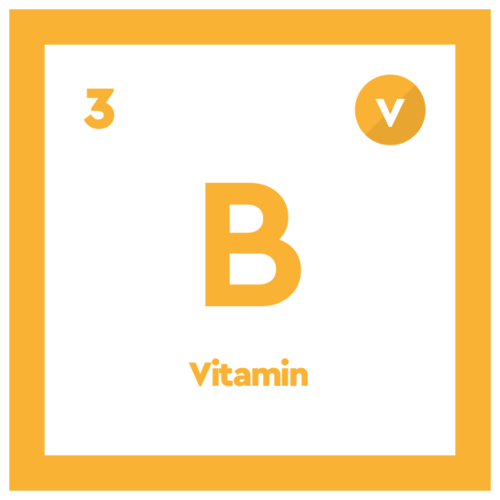 caffeine tablet ingredient vitamin B