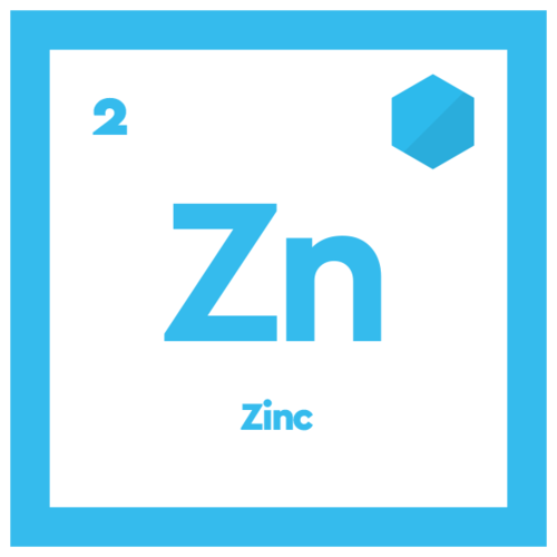 caffeine tablet ingredient zinc