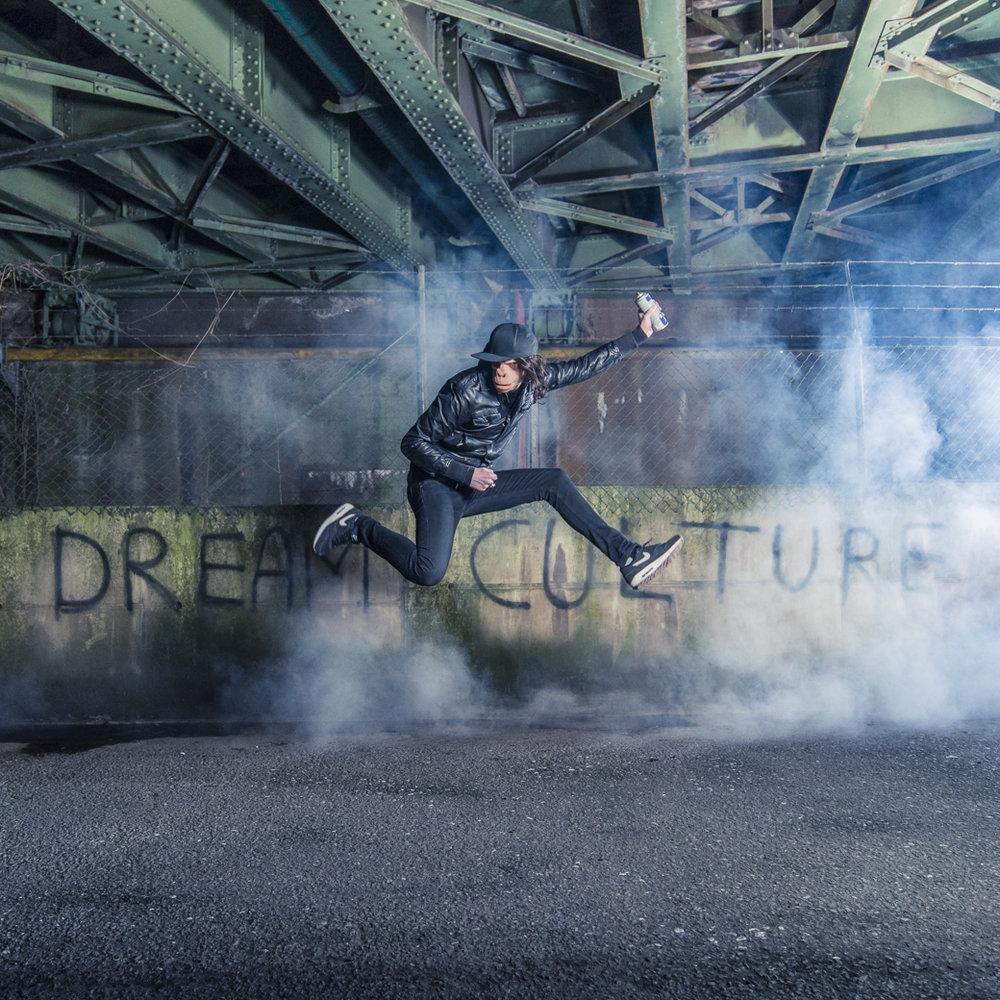 Kidnoize Dream Culture album cover for Black Gizah Records