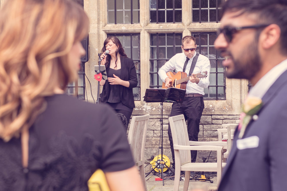 Manchester wedding music from soulful acoustic duo