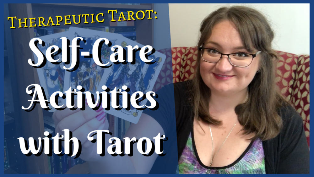 katey flowers therapeutic tarot self care