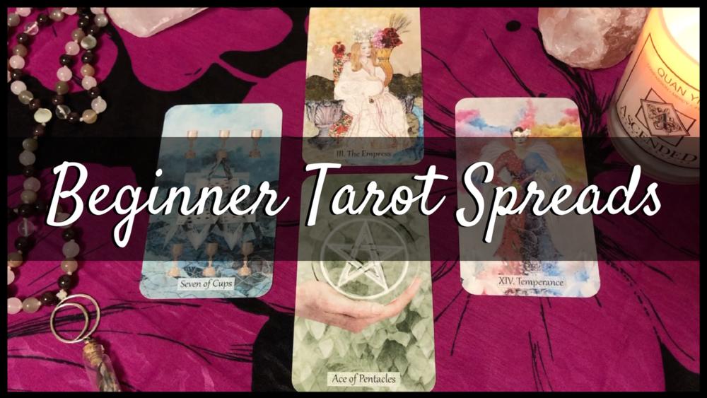 beginner tarot spreads