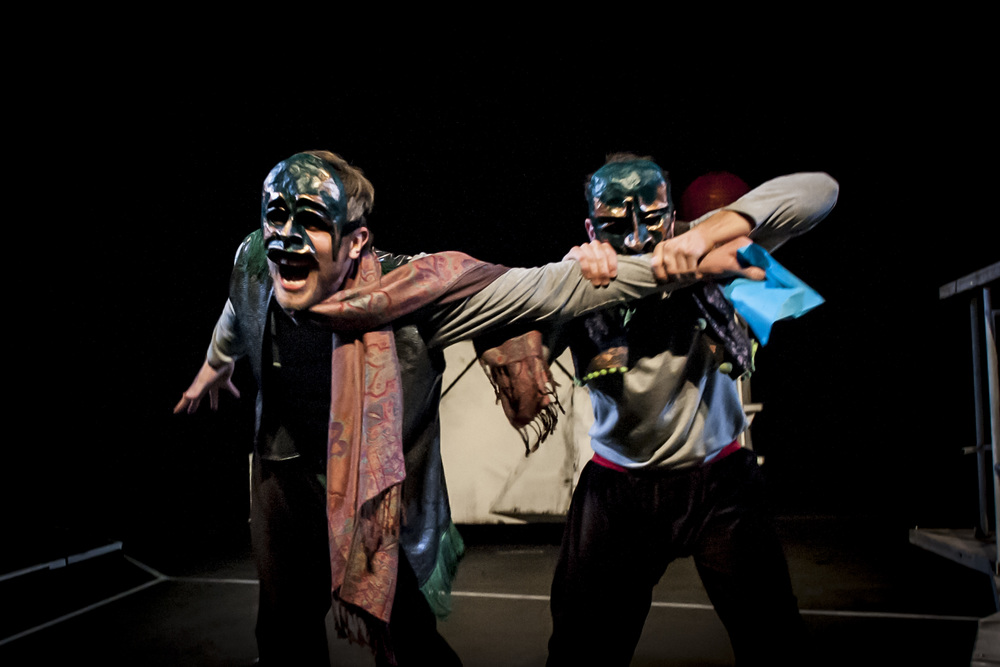 Kiss of the Earth - Benvolio Bites Mercutio
