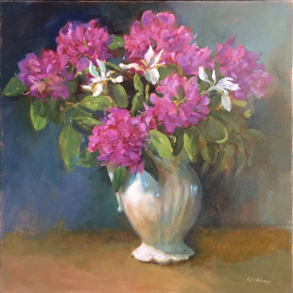 Rhodies   24x24   Oil