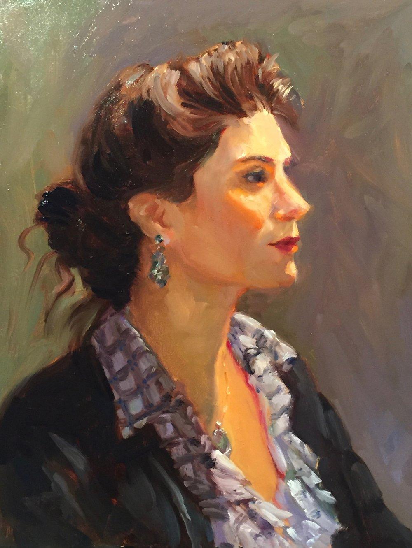 Marisa 14 x 11  Oil