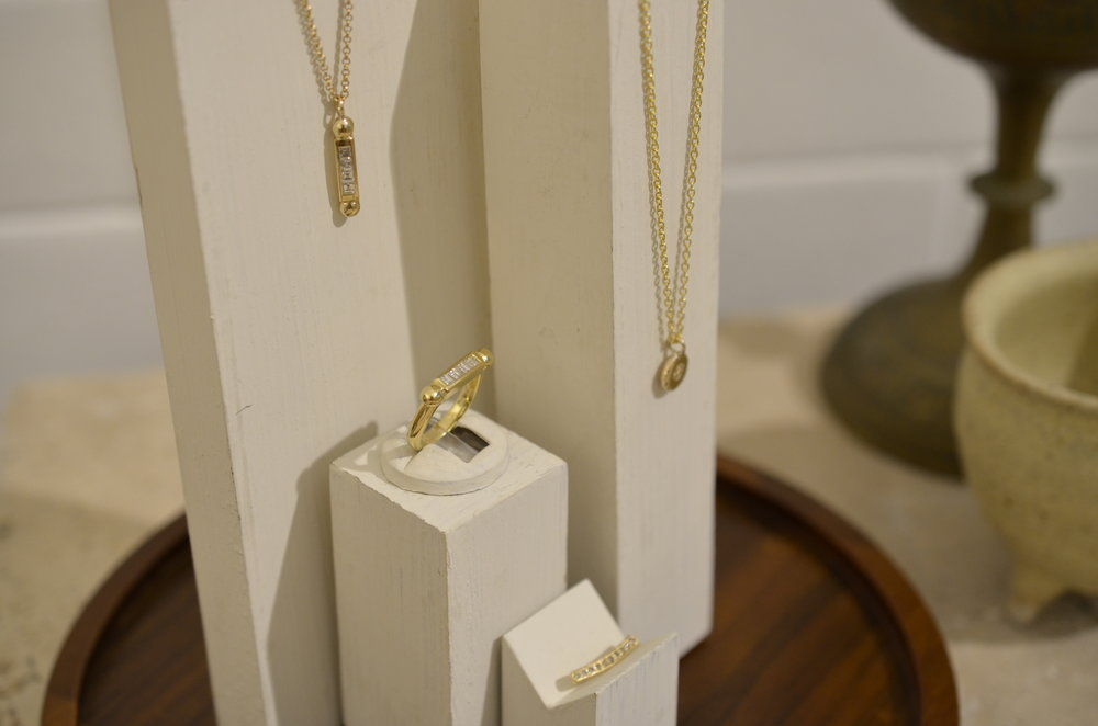 Gold Necklaces and Rings