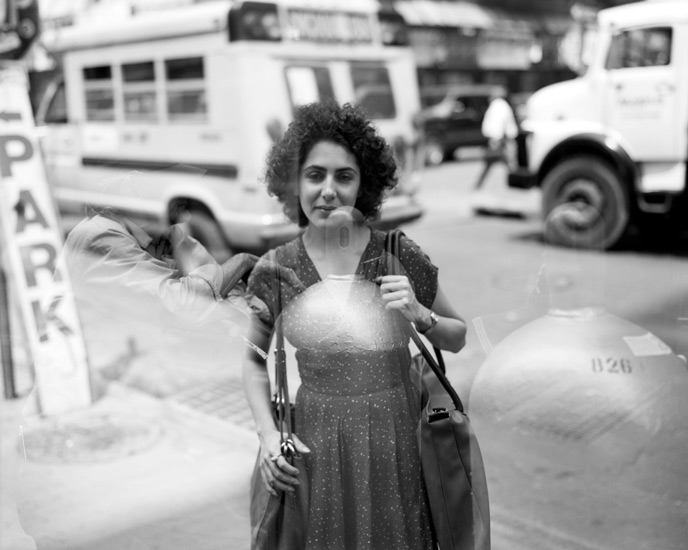 Woman and Gas Tank