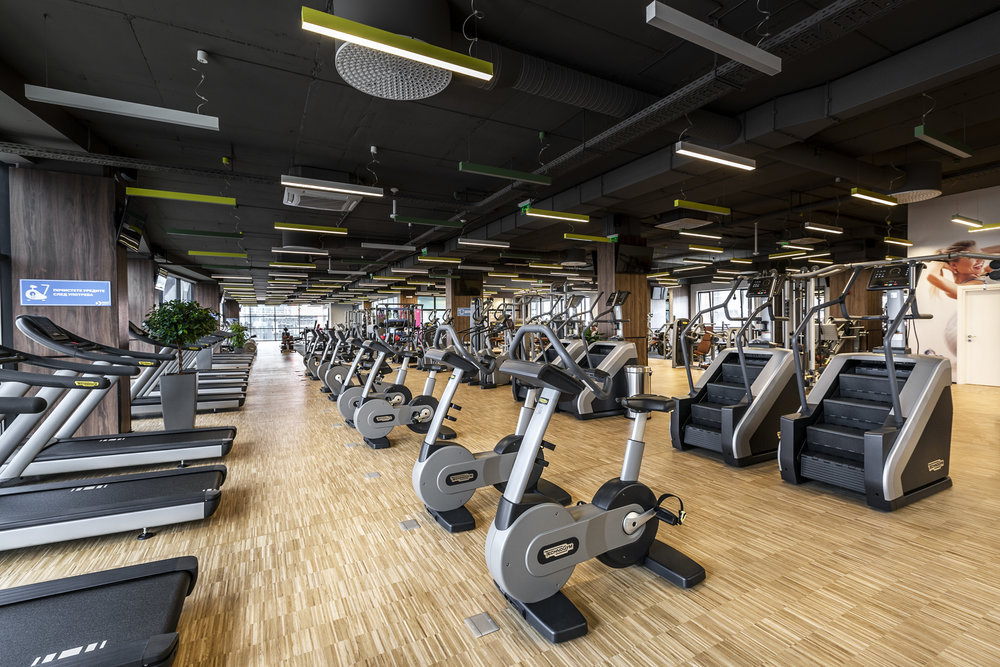 NEXT LEVEL FITNESS - ON THE TOP FLOOR