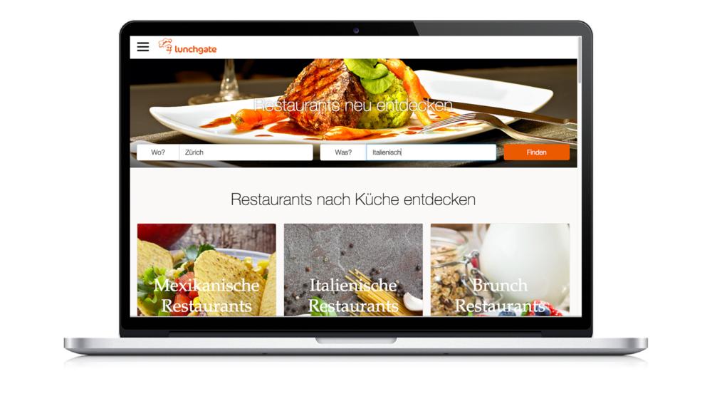 Lunchgate.ch Übersicht